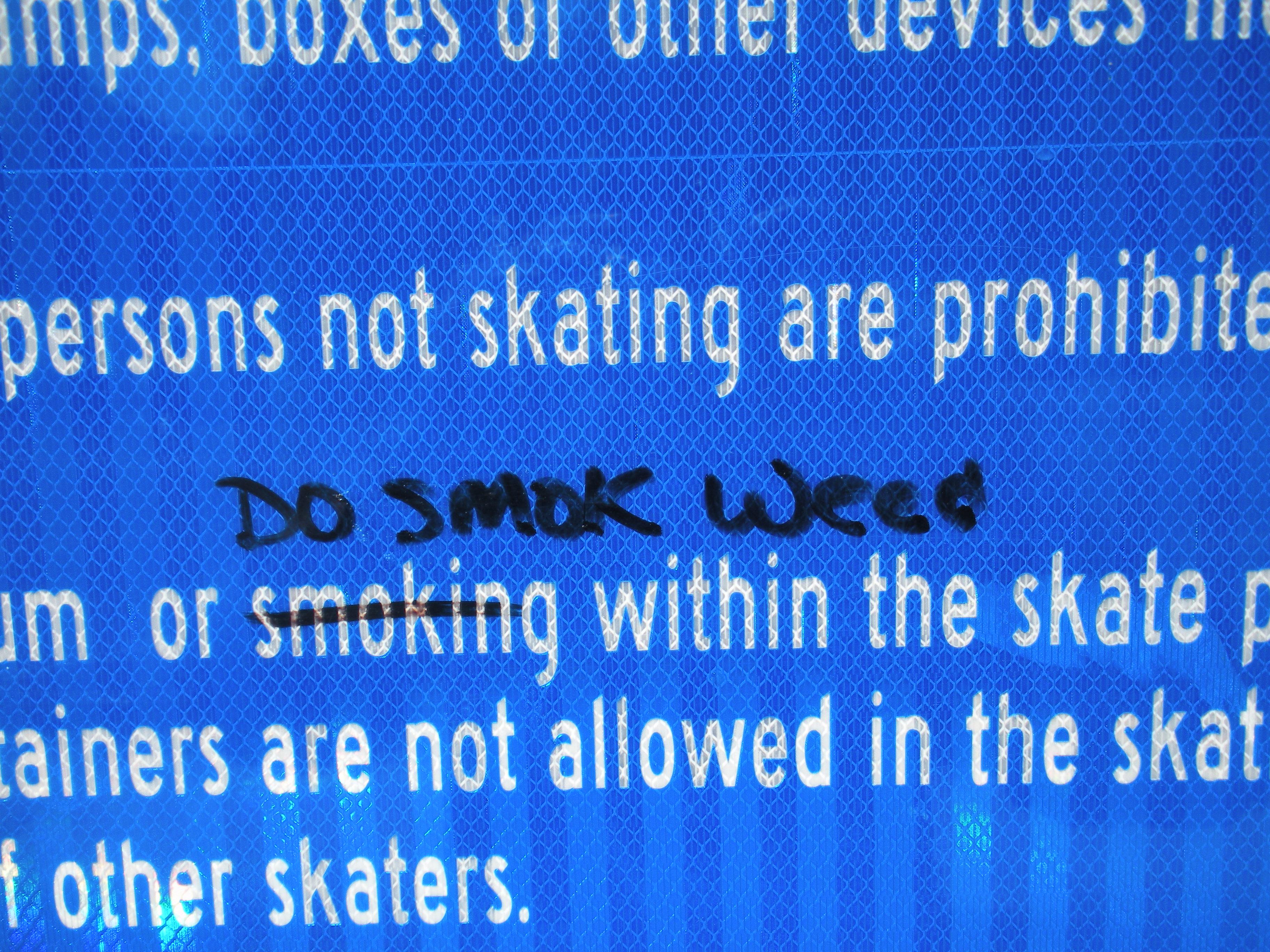 Graffiti Found at Skate Park – Dalton GA Police Department